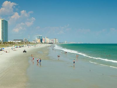 Photo for Large Ocean Front Two  Bedroom in North Myrtle Beach 6/21 to 6/26