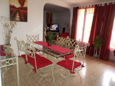 Photo for BEAUTIFUL FURNISHED APARTMENT TYPE T3 / 4 IN PRIVATE RESIDENCE WITH PARK