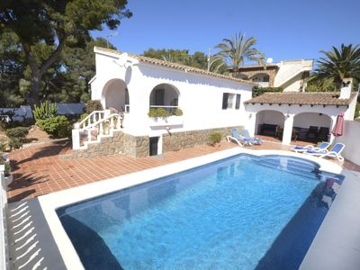 Photo for Holiday rental home situated in Benissa (Costa Blanca) for maximum 5 people. This villa is located in a quite area, where you will enjoy the beautiful beaches lengthways the coast of Benissa.