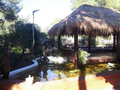 Photo for withe villa with heatable pool and sauna, near the beach
