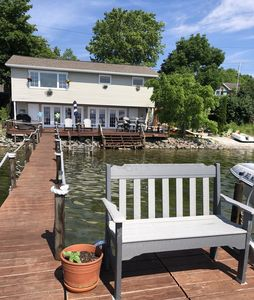 Photo for Vacation on one of the Finger Lakes Year around Lakefront 3 bedrm on Cayuga Lake