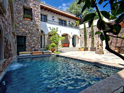 Photo for ELEGANT HOME: San Miguel de Allende w/POOL, VIEWS, 2 COURTYARDS, NEWLY REMODELED
