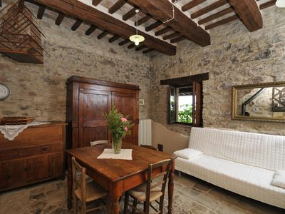 "Photo for ""Il Fico"" apartment in an ancient stone farmhouse dating back to 1500"