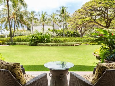 Photo for Popular Ground Floor 2BR/2BA villa Ko Olina Beach Villas