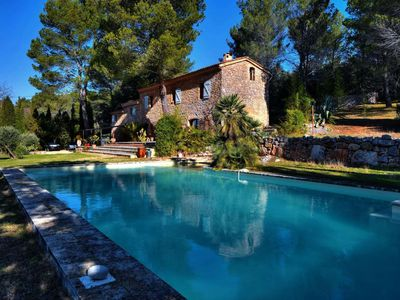 Photo for Haut Var Villecroze Private pool and refinement