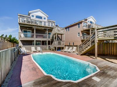 Photo for Sails III | Oceanfront | Private Pool, Hot Tub