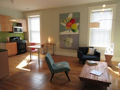 Photo for Contemporary art in a comfortable apartment in Nulu.