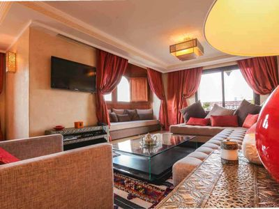 Photo for Luxury apartment in Marrakech Hivernage