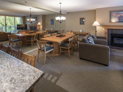 Photo for Spacious True Slopeside Ski In, Ski Out at the Woodrun Lodge