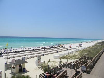 Photo for Great LOW Floor Unit 110! Are YOU ready for BEACH TIME!! Close to Pier Park!!!