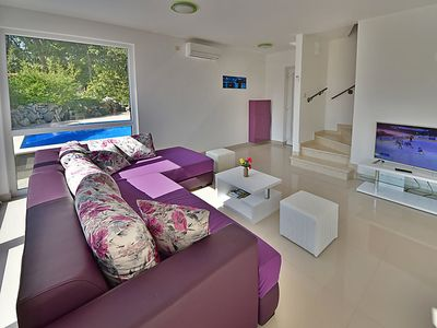 Photo for Vacation home Graziani in Krk/Kornić - 5 persons, 3 bedrooms