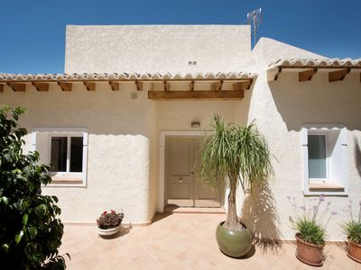 Photo for The villa has exceptional panoramic views that are free from any obstructions