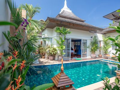 Photo for Tropical Dream Exclusive Two-Bedroom Private Pool Villa (Excellent Location)