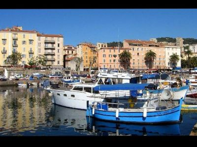Photo for Studio has 2pas of the beach in the imperial city d ajaccio