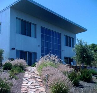 Photo for Modern Retreat - Spectacular View Home Above Dry Creek Valley