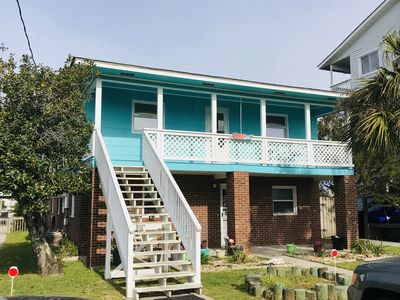 Photo for Wonderful home! One block from the beach and sits on the Canal!