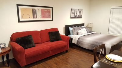 Photo for ** Quiet Comfy Guest House in Northridge. Great for a Couple & close to CSUN **