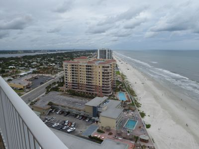 Photo for SNOWBIRDS /SUMMER VACATIONS Oceanfront 2br2b furnished  on 21st flr Indoor pool