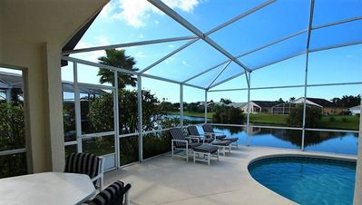 Photo for Disney Orlando Lake 4 Bed Luxury Pool Villa