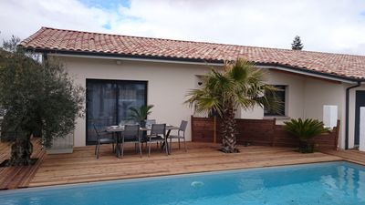 Photo for NEW 115m2 VILLA, ALL COMFORT WITH PIECE, BICYCLE AND JARDiNET BASSiN ARCACHON