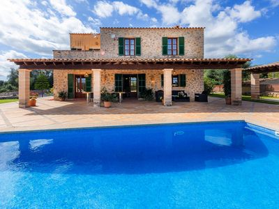 Photo for With Panoramic Views and Plenty of Privacy - Finca Escanellas