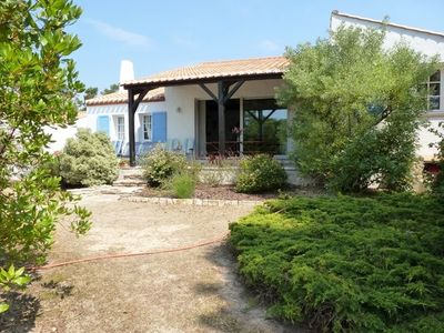 Photo for Quiet and pretty house facing the wood ELOUX 150 M from the sea - WIFI - 6 bikes
