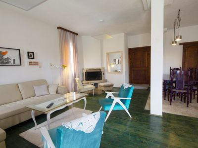 Photo for Two-bedroom apartment with fireplace 'Rux de Luxe'