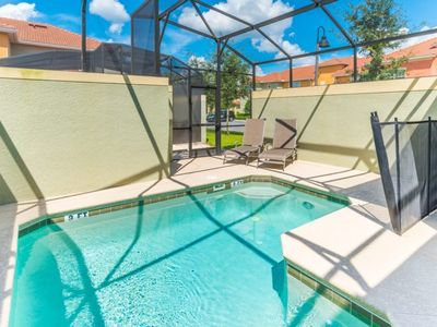 Photo for At Last You can Rent the Perfect Luxury Townhome on Paradise Palms Resort minutes from Disney World, Orlando House 1209
