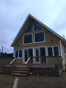 Photo for Beautiiful, Oceanfront, Chalet with Spectacular Sunset Views & Miles of Beach to Roam