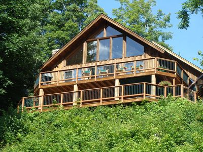 Photo for Ultimate Lakefront Chalet