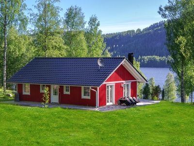 Photo for Luxury Sweden House in a prime location on Rottnansee own shoreline