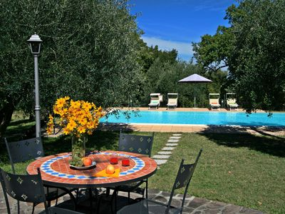 Photo for VILLA CAMILLA - Beautiful  2 bdr villa with private pool in Tuscany