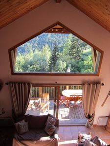 Photo for Renting an upscale chalet in the mountains, in Pra-loup