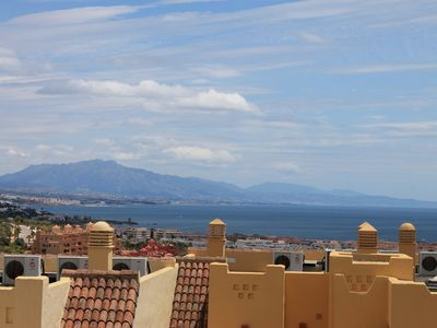 Photo for Costa del Sol - Spain - Enchanting 2 bedrooms - sea view apartment