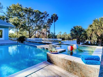Photo for POPULAR Kiawah Home with POOL, Hot Tub and Golf Views!