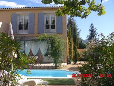 Photo for Residential House / Villa - with private swimming Pool -Venterol