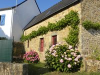 Lovely house and owners and perfect little Breton village.