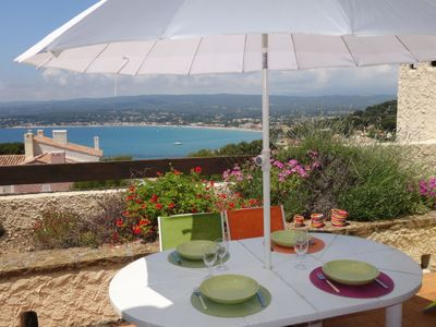 Photo for Apartment Hameau la Madrague  in Saint Cyr sur Mer La Madrague, Cote d'Azur - 6 persons, 1 bedroom