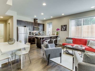 Photo for New Listing! New Apartment, Central Locale, 4 Miles to Alki Beach & Downtown