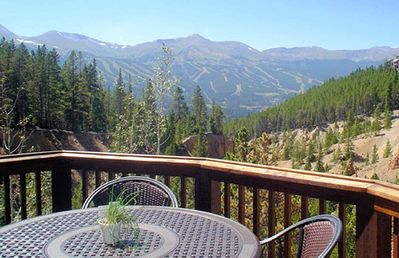 Photo for Spectacular Views of Breckenridge, 4 Bed 4 Bath, Private Hot Tub,