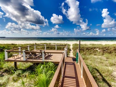 Photo for June 27-July2 Available! 3 night min! Luxury Beachfront Home ~ Walk to Pier Park