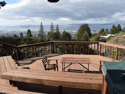 Photo for Breathtaking Bay Area Views in Berkeley Hills Next to Tilden Park