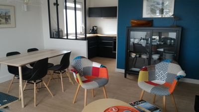 Photo for Bright apartment in the heart of CAMARET