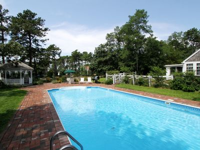 Photo for #317: Renovated w/ Private Pool, Private Tennis Courts, Game Room, Dog Friendly!