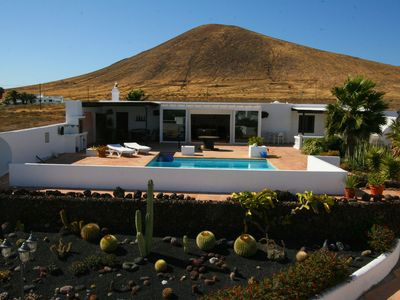 Photo for Peace and relaxation with private pool and sea views
