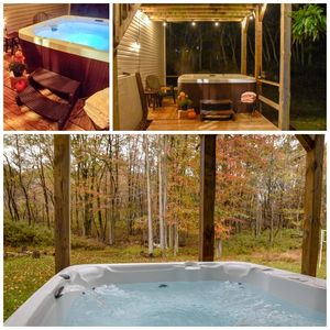 WFH with HOT TUB,perfect family getaway, BEST LOCATION in the Poconos!