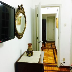 Photo for furnished apartment rentals in Copacabana, one block from the beach.