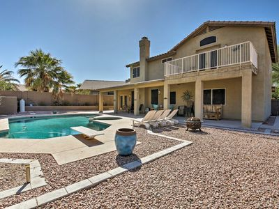 Photo for NEW! Family-Friendly Goodyear Home w/Pool & Spa!