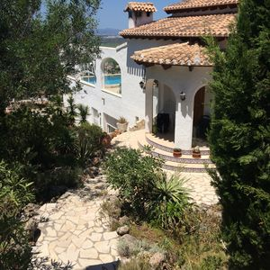 Photo for Large villa with fantastic views in a quiet location (Pego)