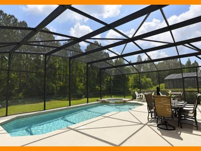 Photo for Watersong Resort 20 - 5* villa with pool, spillover tub & game room - nr Disney